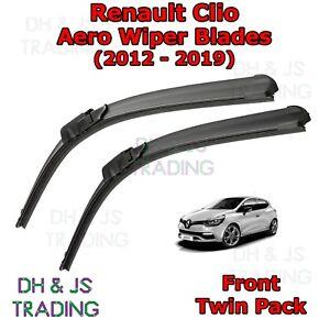 Rationnel (12-19) Renault Clio Aero Balais D'essuie-glace/pare-brise Plat Lames Essuie-glaces Mk4-afficher Le Titre D'origine