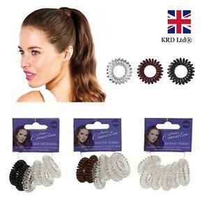 Spirale élastique de cheveux élastique filles bébé queue de cheval extensible plastique bobble school bandes uk-afficher le titre d`origine YNFmSXTk-07161022-909012671