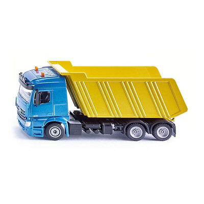 ° Attractive Fashion Toys, Hobbies Siku 3549 Mercedes-benz Arocs With Dump Body Blue/yellow Scale 1:50 New