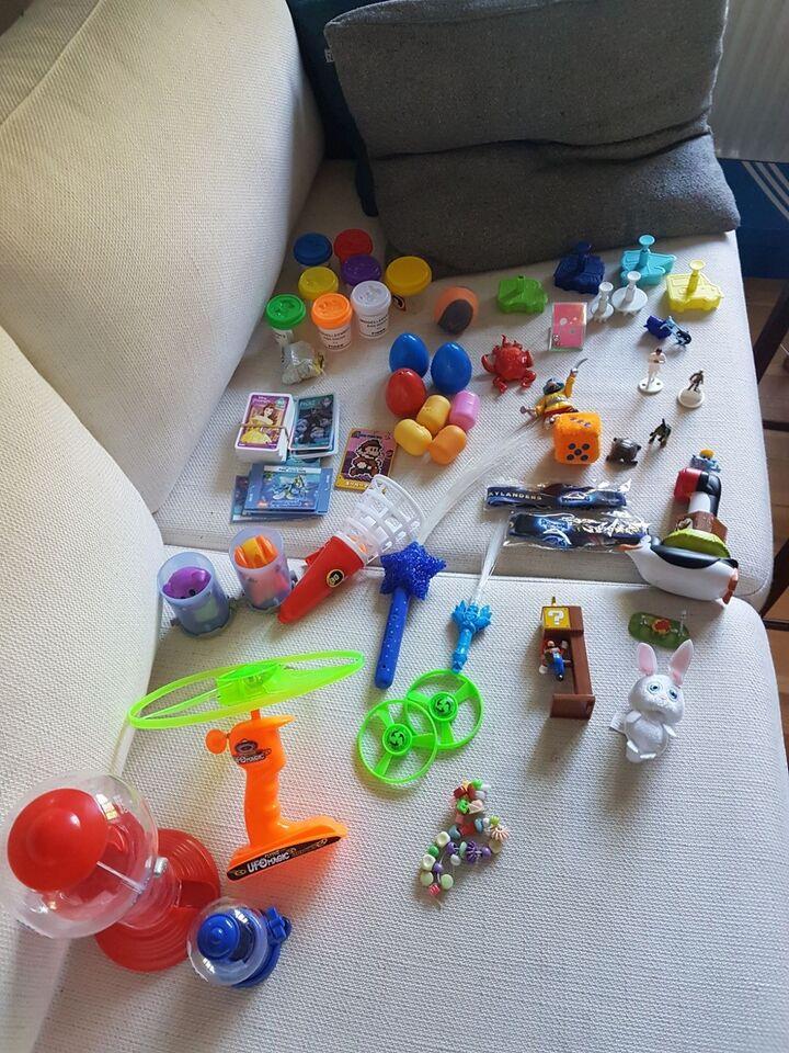 Blandet legetøj,