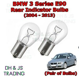 Details About 04 13 Bmw 3 Series Saloon E90 Rear Indicator Light Bulbs Lights 382 12v 21w