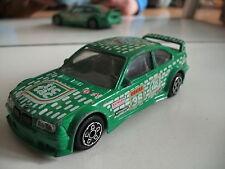 "Bburago burago BMW M3 ""Tictac"" in Green on 1:43"