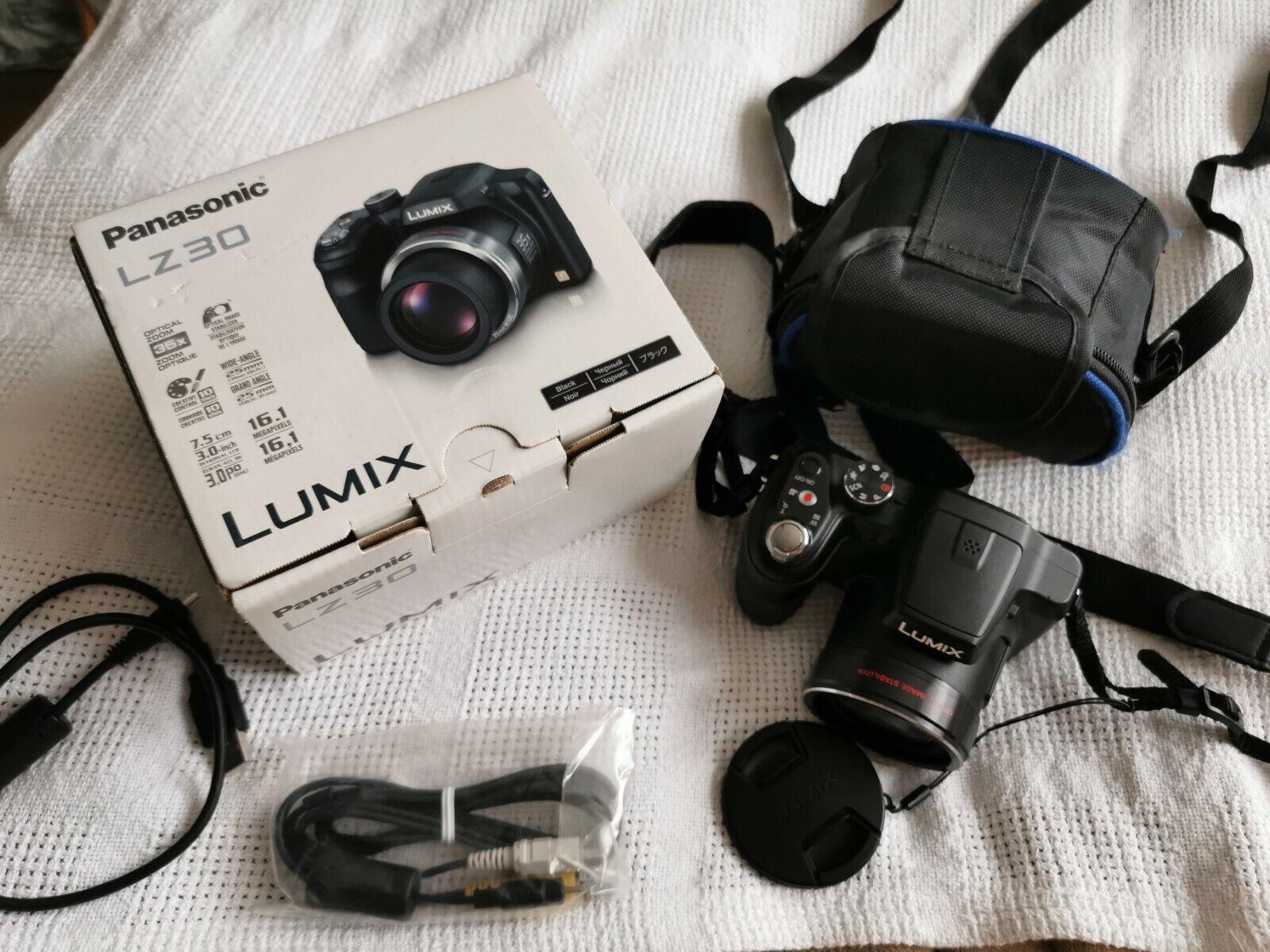Panasonic LZ 3O Camera Boxed With A Bag