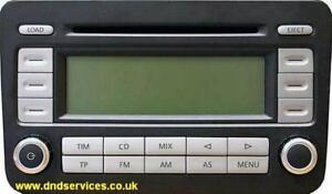 vw refurbished stereo radio cd rcd 500 rcd500 bvx ebay rh ebay co uk Instruction Manual Book User Manual PDF