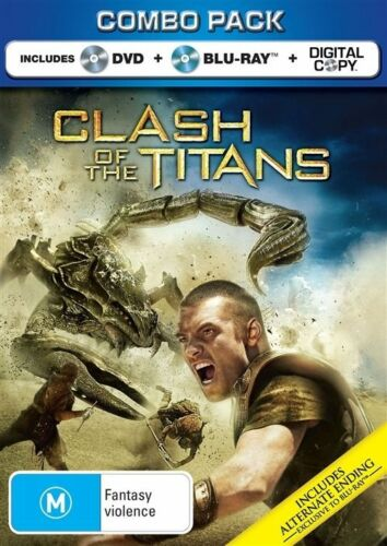 1 of 1 - Clash Of The Titans (DVD+Blu-ray+Digital Copy, 2010, 2-Disc Set), NEW & SEALED,