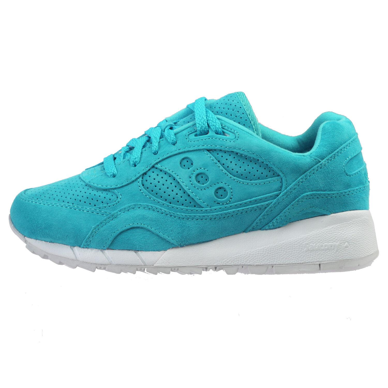Saucony Sombra 6000 Hombres Zapatos de entrenamiento atlético Gamuza Esmeralda S70222-5 Talla 10.5