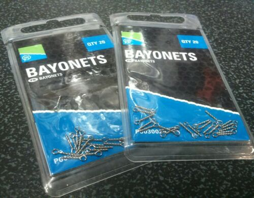 Band ums x 2 packs NEW Preston Bayonets Perfect for Boilies