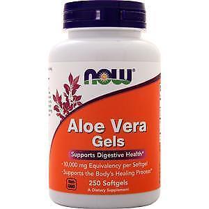 Now Aloe Vera Gels  250 sgels
