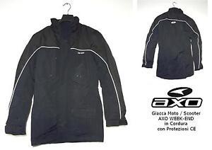 GIACCA-MOTO-SCOOTER-AXO-WEEK-END-col-NERO-Tg-S-con-PROTEZIONI-CE