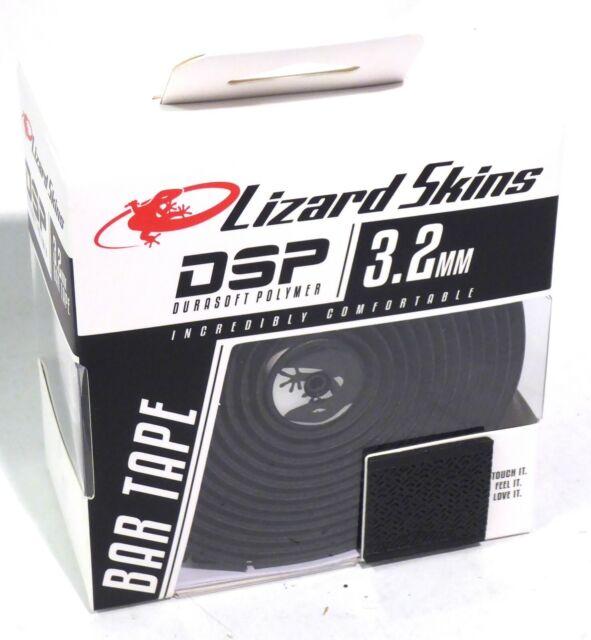 3.2mm Lizard Skins DSP Bar Tape Jet Black Thick Comfortable Handlebar Tape
