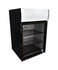New Glass Door Counter Top Drink Display Cooler Refrigerator Led Idw G 6c 8666