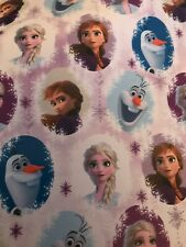 8M FROZEN WRAPPING PAPER BIRTHDAY GIFT PRESENT ELSA FROM THE MOVIE FROZEN 2 NEW
