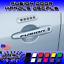 4x Fusion Door Handle Decal Sticker Ford S SE SEL Titanium Sport