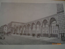 Hamburg - Schulgebäude und Bibliothek, Suhr, Englisches Haus, Bundsen um 1819