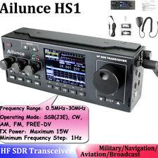 Ailunce HS1 SSB HF SDR Transceiver 0 5MHz-30MHz HF SDR Transceiver Ham Radio