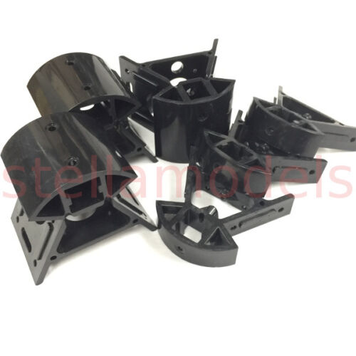 Moulded Top /& Lower Corners for Delta Mini Kossel 3D Printer ABS