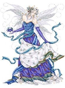 Design-Works-Counted-Cross-Stitch-kit-12-034-x-15-034-ICE-FAIRY-Sale-2739
