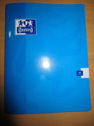 LIBRETA GRAPADA OXFORD A5-90H 5x5 COLORES VARIOS