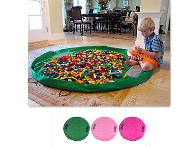 1.5m Kinder Spielzeug Lego Aufbewahrungstasche Spielmatte