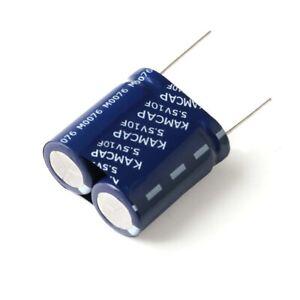 Super/Farad Capacitor 5.5V 0.22F 0.47F 1F 1.5F 2F 4F 5F 10F Sealed Combined Type