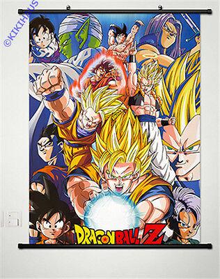 Neu Dragonball Z Anime Manga Wallscroll Stoffposter 60x80cm 001