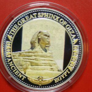 Solomon-Islands-2-Dollars-2015-Silber-PP-Proof-F3036-Colored-034-Sphinx-von-Gizeh-034