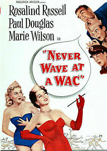 NEVER-WAVE-AT-A-WAC-NEVER-WAVE-AT-A-WAC-DVD-NEW