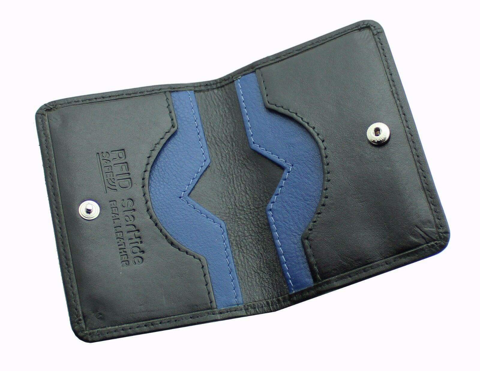 Ultra Slim Leather Bifold Cardholder