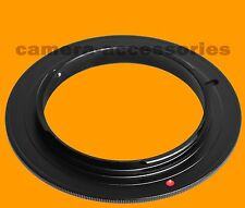 58mm Macro Reverse Mount Adapter Ring For Olympus E-620 E-5 E-3 E-450 E-520 body