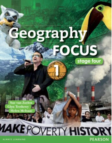 1 of 1 - PEARSON EDUCATION Geography Focus 1 stage four - Zuylen, Trethewy, McIsaac