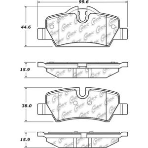 Disc Brake Pad Set Rear Centric 105.18000 fits 14-19 Mini Cooper