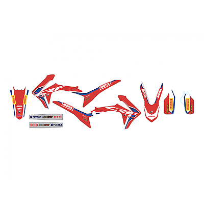 HONDA CRF 250 2014 2015 2016 CRF 450 2013 2015 2016 HRC team Graphics Decals