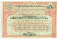 NEW JERSEY JUNCTION RAILROAD COMPANY...1912 FIRST MORTGAGE BOND