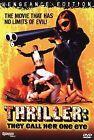 Thriller - A Cruel Picture (DVD, 2005, Vengeance Edition)
