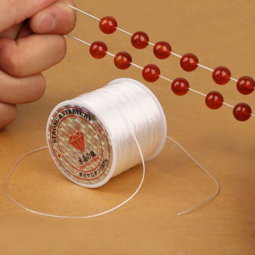 Strong Stretchy Elastic Beading Thread Cord Bracelet String For Jewelry DIY 10M