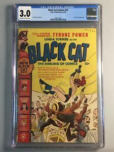 Black-Cat-Comics-23-CGC-3-0-1950-Harvey-Classic