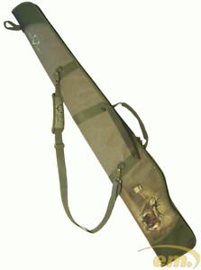 Flinten Gewehrfutteral, Waffentasche, abschließbare Gewehrtasche  mit Wildmotiv