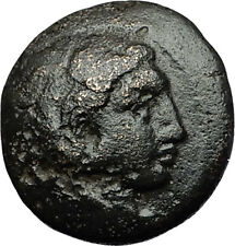 ALEXANDER III the GREAT 332BC Hercules Club Amphipolis Ancient Greek Coin i58420