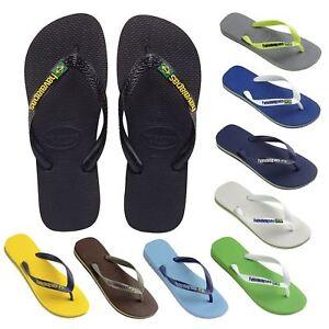 1294dcae8e3e9 Havaianas Brazil Logo Men s Flip Flops Sandals All sizes Colors