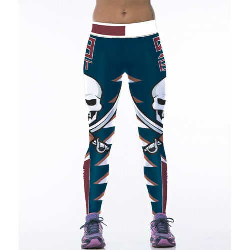 Womens Workout Leggings Sports Yoga Gym Fitness Pant Running Athletic Clothes US