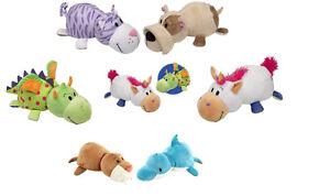 Flip un zoo little Flip Zees - 2 en 1 peluche créatures! NEUF  </span>