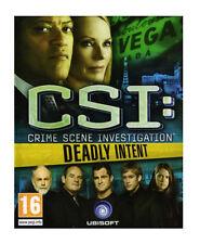 CSI: Crime Scene Investigation - Deadly Intent (Wii), Very Good Nintendo Wii, Ni