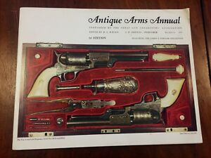 ANTIQUE-ARMS-ANNUAL-1ST-EDITION-1971-Nice