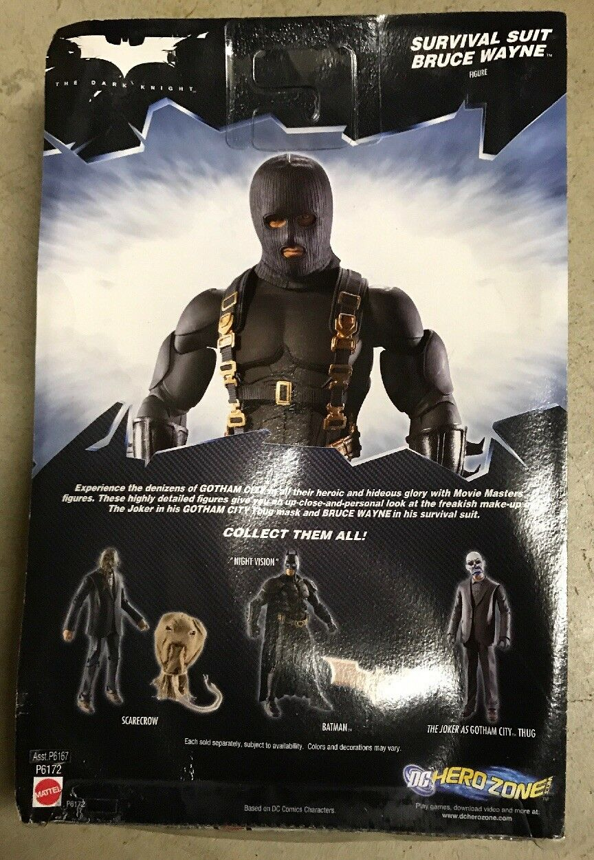 Mattel The Dark Knight Two Two Two Face & Survival Suit Bruce Wayne 0b1667