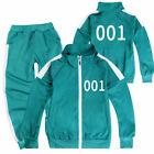 SQUID Kids Boys Girls Tracksuit Coat Tops+Trousers Tops Pants Sportwear US
