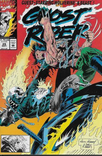 No.29 1992 Wolverine /& The Beast Howard Mackie /& Andy Kubert Ghost Rider Vol.2