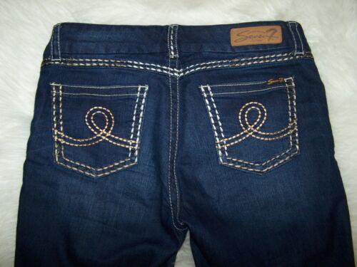 Stretch Denim 12 Skinny Jeans Great Womens taglia Seven Dstressing Blue Factory TpwWP6q