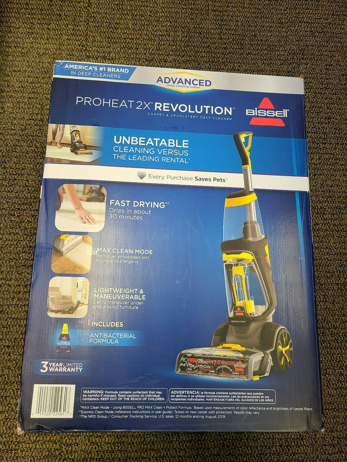 Bissell 1560 Proheat 2x Lift Off Upright Carpet Cleaner For Sale Online Ebay
