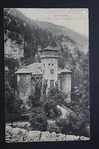 Postcard-Antique-CPA-Gorges-Tarn-Castle-Of-La-Case
