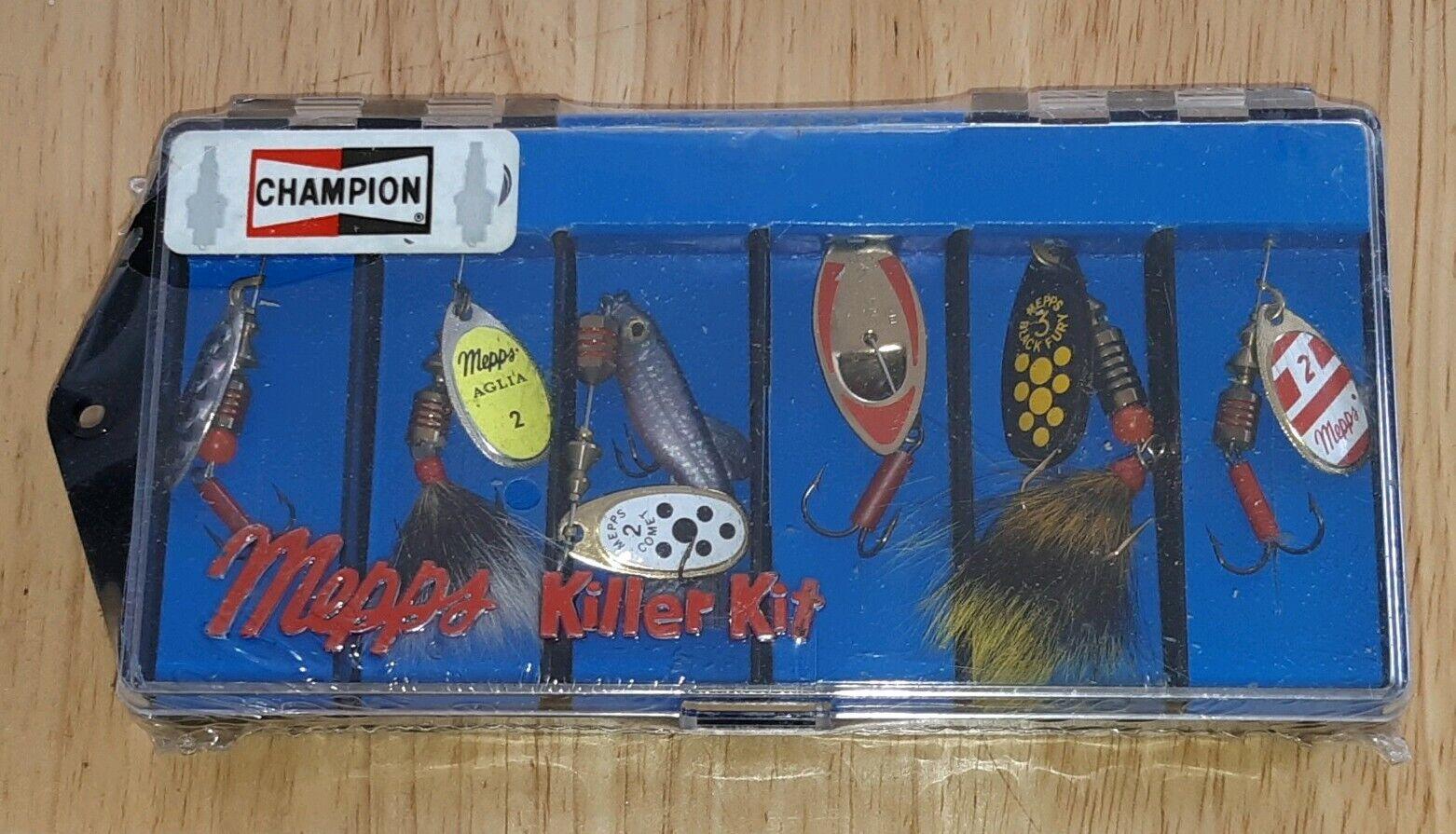 CHAMPION SPARK PLUGS PROMO Mepps Killer Kit Set of 6 Fishing